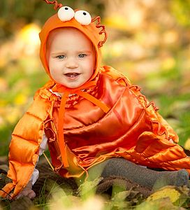Handmade Lobster Infant Fancy Dress Outfit