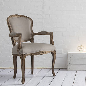 Louis French Style Chair - furniture