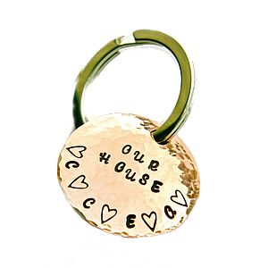 Personalised Family Household Keyring