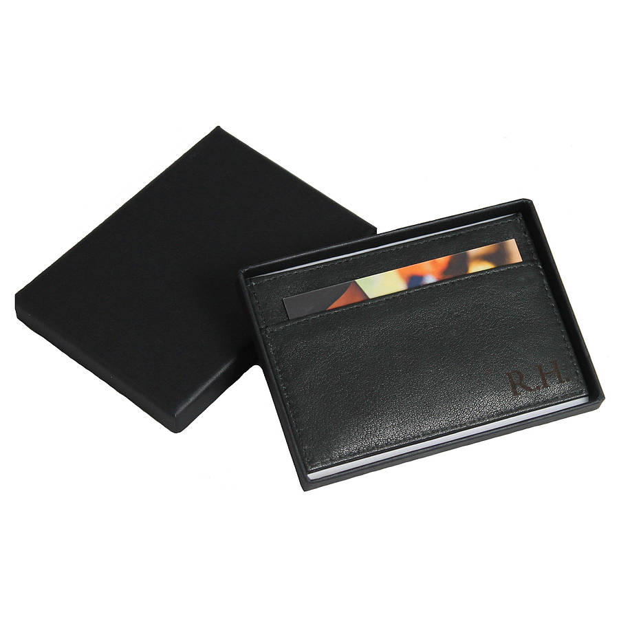 men s leather card holder by nv london calcutta