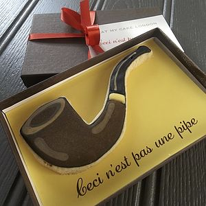 Ceci N'est Pas Une Pipe Biscuit - food & drink gifts