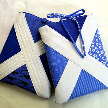 Personalised Scottish Saltire iPad Cosy