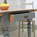 Painted Pembroke Kitchen Table