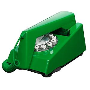 1970s Green Trimphone Telephone - home accessories