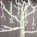 Silver Letter Hanging Decorations