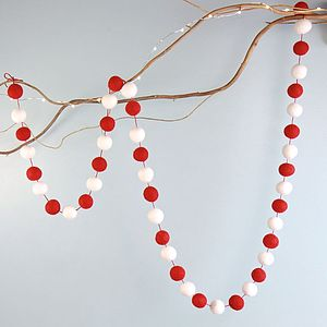 Pom Pom Garland - room decorations