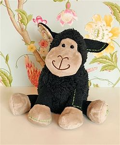 Black Baby Colourful Lamb Teddy - toys & games