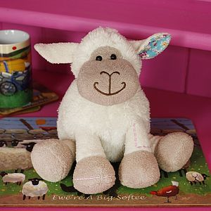 Soft Toy Lamb - stocking fillers