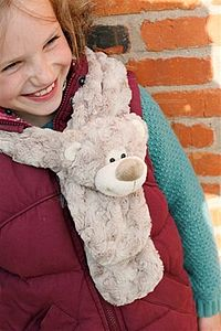 Childrens Happy Bear Scarf