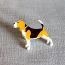Beagle Dog Brooch