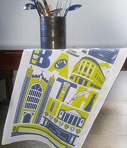 Bath City Tea Towel
