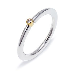 Diamond Stacking Ring - rings