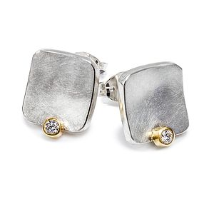 Diamond Stud Earrings - women's jewellery
