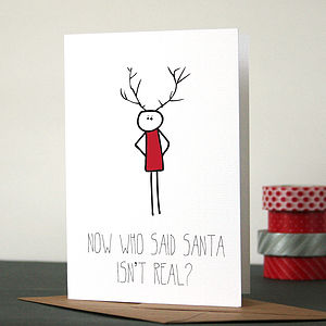 Bob: Santa's Real Christmas Card - christmas card packs