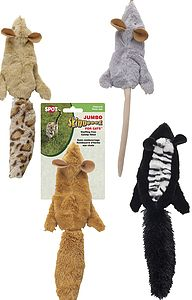 Skinneeez Jumbo Forest Animal - cats
