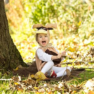 Handmade Reindeer Infant Fancy Dress Outfit - fancy dress