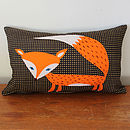 Red Fox Cushion