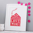 Personalised Home Print