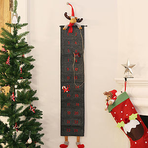 Large Reindeer Advent Calendar - view all sale items