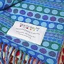 Popper Stripe Woven Wool Throw