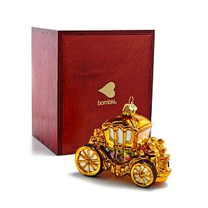 Christmas Decoration Golden Coach