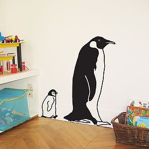 Penguin And Son Wall Sticker