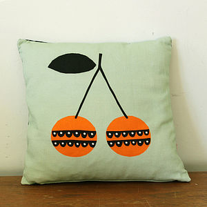 Cherry Cushion - cushions