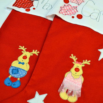 Personalised Childrens Christmas Stocking