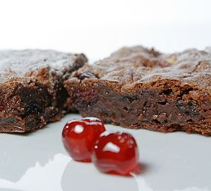 Christmas Brownie Box - brownies
