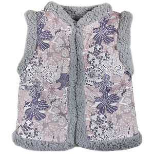 Girls Reversible Liberty Gilet - clothing
