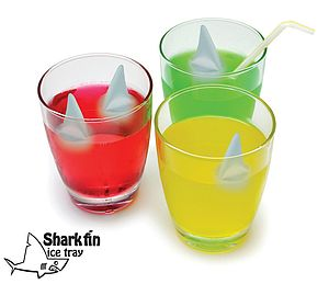 Shark Fin Ice Cube Tray - children's parties
