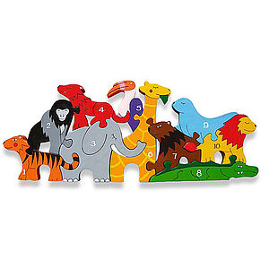 Number Zoo Jigsaw Puzzle - board games & puzzles