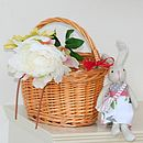Child's Traditional Wicker Bicycle Basket