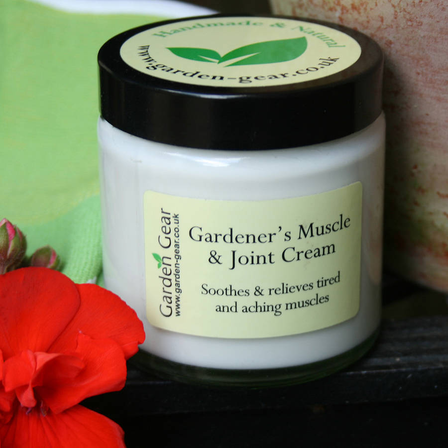 Gardener's Muscle And Joint Cream