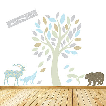 Winter Wonderland Wall Stickers