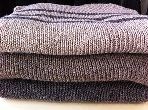 Chunky Knitted Scarf - hats, scarves & gloves
