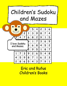 Children's Sudoku And Mazes Book