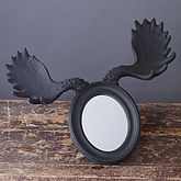 Moose Horn Mirror *80% Off Clearance Sale - home