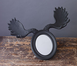Moose Horn Mirror *90% Off Clearance Sale - mirrors