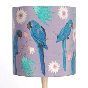 Macaws Lampshade - dining room