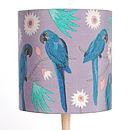 Macaws Lampshade