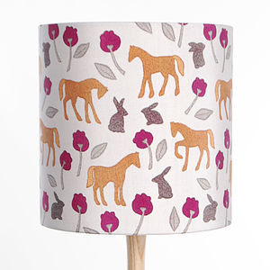In The Fields Lampshade - lamp bases & shades