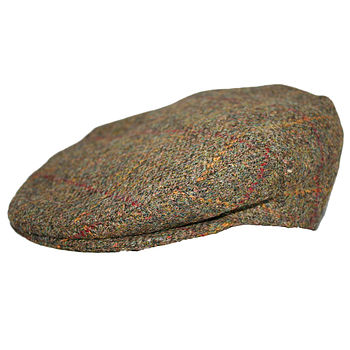 'Gilly' Harris Tweed Flat Cap