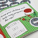 Personalised 'Countdown To Christmas' Book