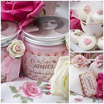 Small Bath & Body Vintage Gift Box