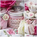Bath And Shower Vintage Gift Box
