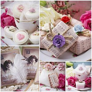 BEST SELLER Large Bath Range Vintage Gift Box - bridal beauty