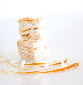Fleur De Sel Caramel Marshmallows - sweet treats