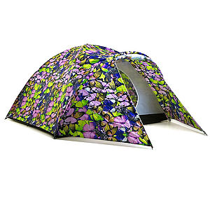 Solar Powered Butterfly Collector Tent - camping