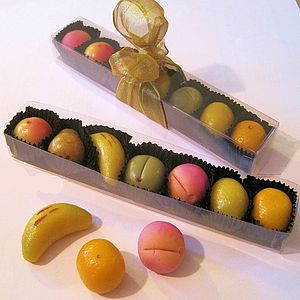 Marzipan Fruits - food & drink gifts